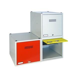Wertfachwürfel Serie 46 und 47 von EUGEN WOLF Büro- und Betriebseinrichtungen aus Stahl