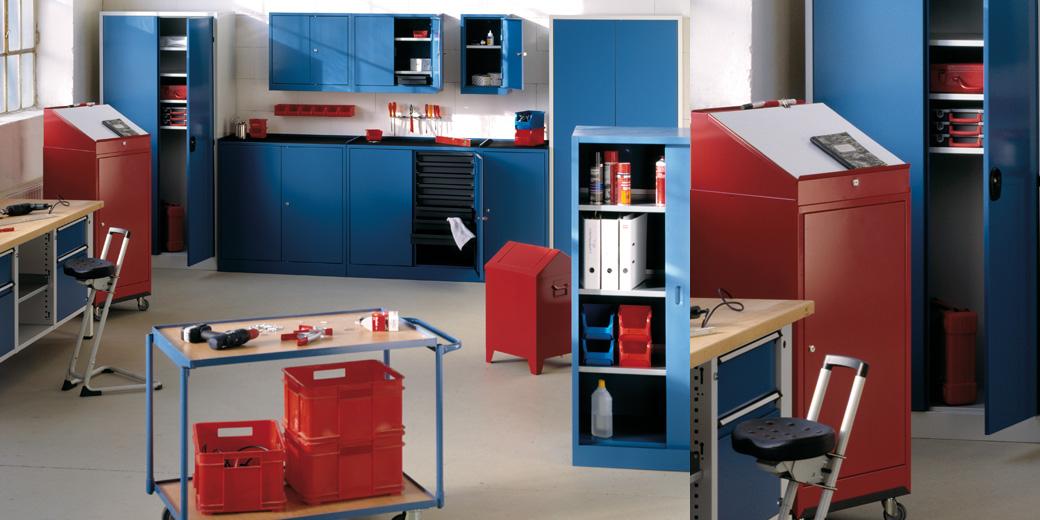 Werkzeugschränke- und Sammelbehälter-Sortiment | EUGEN WOLF ...