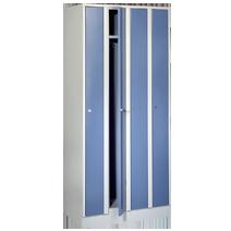 Raumsparschränke Serie 71 R von EUGEN WOLF Büro- und Betriebseinrichtungen aus Stahl