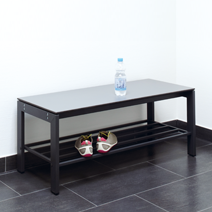 Accessories for sitting and cloak room benches by EUGEN WOLF