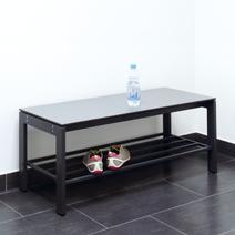 Zubehör für Sitz- und Garderobenbänke von EUGEN WOLF Büro- und Betriebseinrichtungen aus Stahl