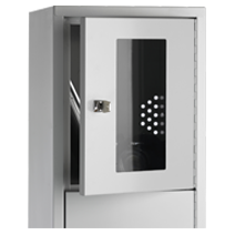 Accessories for clothes and security cabinets / lock systems and coin-operated locks by EUGEN WOLF