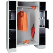 Rückwände, Zwischenteile und Seitenwände von EUGEN WOLF Büro- und Betriebseinrichtungen aus Stahl