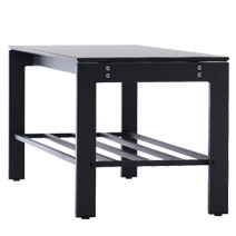 Freistehende Sitzbänke Serie 106 von EUGEN WOLF Büro- und Betriebseinrichtungen aus Stahl
