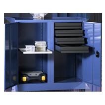 Werkzeugschränke Serie 51 von EUGEN WOLF Büro- und Betriebseinrichtungen aus Stahl