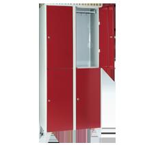 Garderobenschränke Serie 72 von EUGEN WOLF Büro- und Betriebseinrichtungen aus Stahl