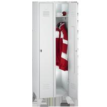 Garderobenschränke Serie 75 von EUGEN WOLF Büro- und Betriebseinrichtungen aus Stahl