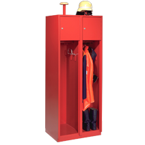 Fire station clothes cabinets series 75 F by EUGEN WOLF