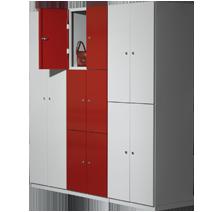 Büroschränke Serie 77 von EUGEN WOLF Büro- und Betriebseinrichtungen aus Stahl